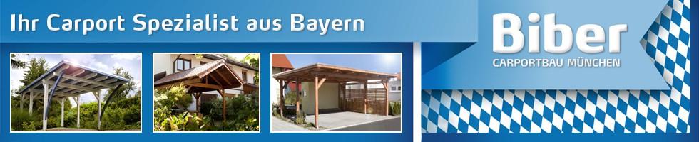 Carport aus Bayern